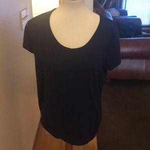 Ann Taylor T-shirt, navy, XL